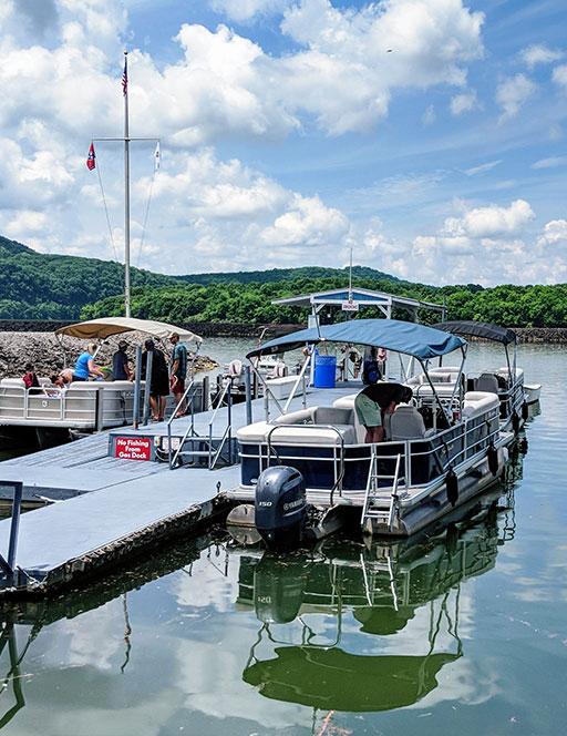 Wildwood Resort Pontoon Boats